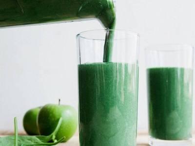 Πράσινο smoothie πλούσιο σε πρωτεΐνη!