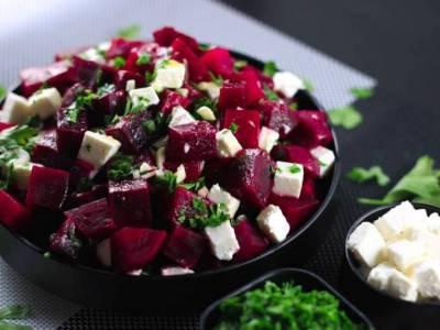 Σαλάτα παντζάρι με φέτα
