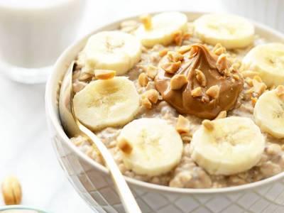 Βρώμη με φυστικοβούτυρο και μπανάνα